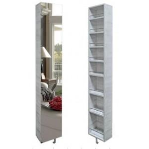 Шкаф поворотный, с 3-мя зеркалами Лупо Венге