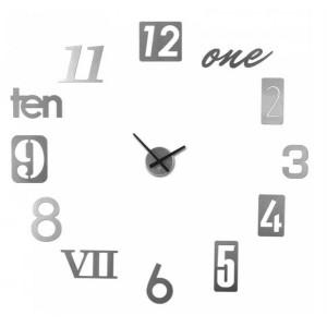 """Часы настенные Umbra """"Numbra"""" алюминиевые 118430-008"""