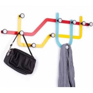 Вешалка Subway разноцветная Umbra 318187-370