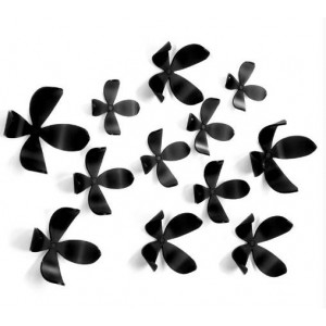 "Элемент декора Umbra ""Wallflower"" 25 шт. 470040-040Black"