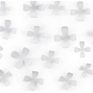 "Элемент декора Umbra ""Wallflower"" 25 шт. 470040-660White"