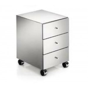 Шкаф на колесиках с 3-мя дверками Linea Beta 5436.29