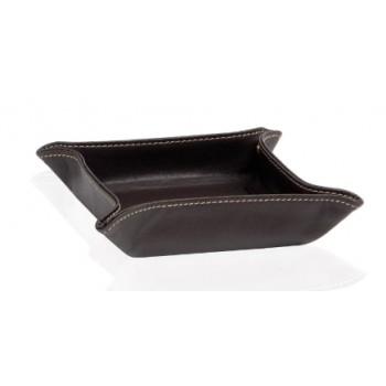 Поднос для аксессуаров коричневый Andrea House AX6833