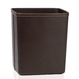 Корзина для мусора Эко кожа коричневая Andrea House PA60068
