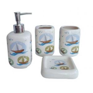 Набор аксессуаров для ванной Primanova Betsi D-16002