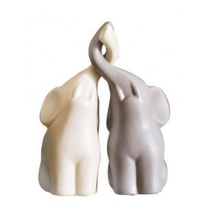 Статуэтка слоники бежево - коричневая Garda Decor 10K8105/8106D