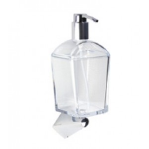 Универсальный настенный держатель + дозатор для жидкого мыла Koh-i-noor 6715+K657