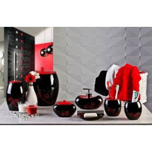 Набор аксессуаров для ванной Primanova Maison D-15350 черный