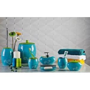 Набор аксессуаров для ванной Primanova Maison D-15390 голубой