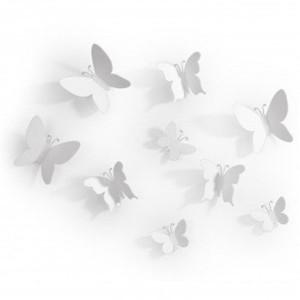 "Элемент декора Umbra ""Mariposa"" 470130-660 White"