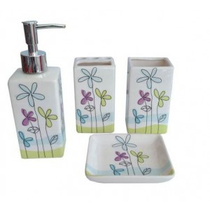 Набор аксессуаров для ванной Primanova Mia D-16005
