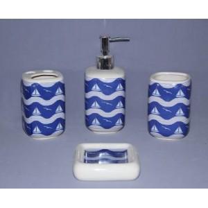 Набор аксессуаров для ванной Primanova Napoli D-16019