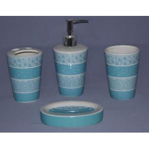 Набор аксессуаров для ванной Primanova Turkuaz D-16015