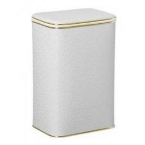 Корзина для белья Cameya FWG-B большая с золотой окантовкой