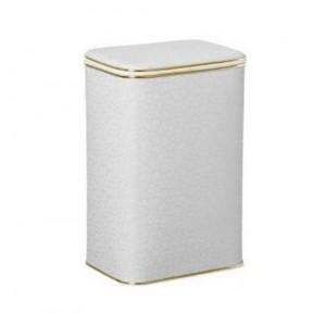 Корзина для белья Cameya FWG-M малая с золотой окантовкой