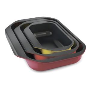 Набор из 3 форм для запекания в духовке Nest Oven с антипригарным покрытием Joseph Joseph 45013