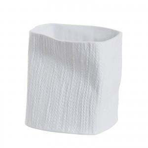 Ваза керамическая (матовый белый) E02K-21
