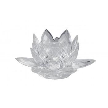 Подсвечник хрустальный в виде цветка X110279