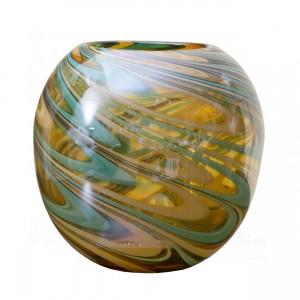 Ваза стеклянная (цветная) HJ360-25-G3