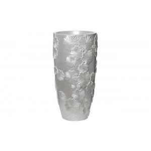 Кашпо жемчужно-белое напольное ZSC997-26
