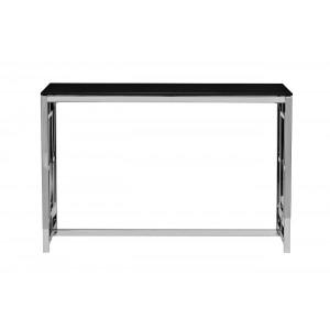 Консоль из черного стекла GY-CST2051212