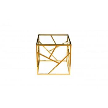 Столик журнальный золотой GY-ET2051214GOLD