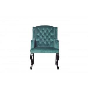 Кресло изумрудное мягкое PJC591-PJ635