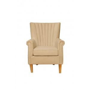 Кресло бежевое мягкое 28-221BG