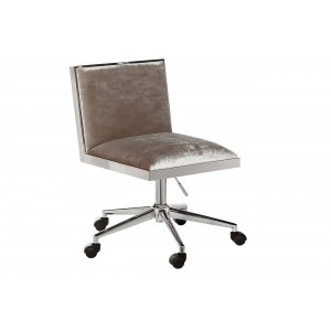 Кресло офисное велюровое серое GY-OC7976-GR