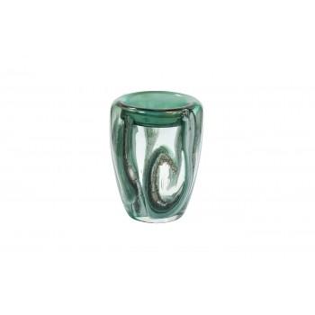 Ваза стеклянная зеленая HJ4143-20-Q88