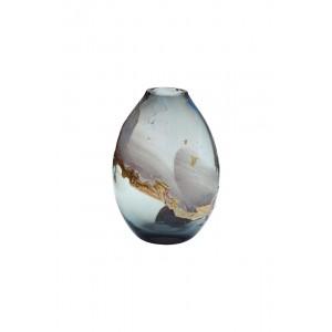 Ваза стеклянная цветная HJ1459-28-Q87
