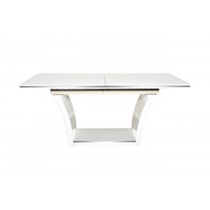Стол обеденный раздвижной белый 31PL-832DT