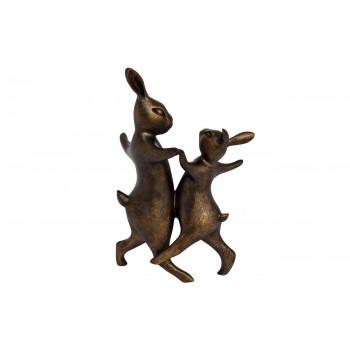 """Статуэтка """"Танцующие кролики"""" D1831"""