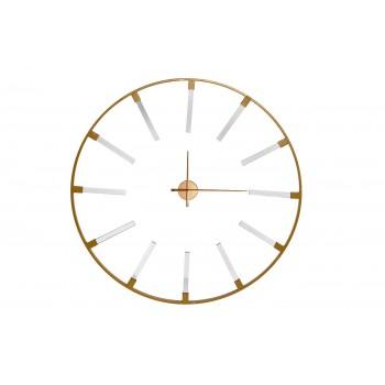 Часы настенные круглые золотые 19-ОА-6157