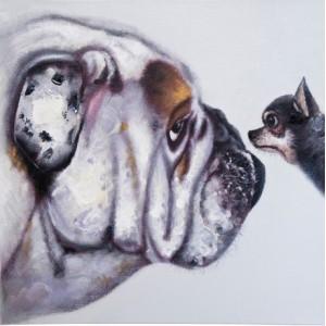 """Картина """"Лица собак"""" Kare 33295"""
