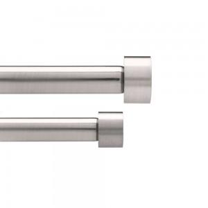 Карниз двойной Cappa 91-183 см. Umbra 245963-410
