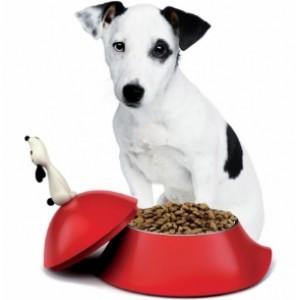 Миска для собаки Lula красная Alessi AMMI19 R