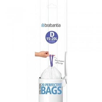 Пакет пластиковый 20 шт. Brabantia 246760