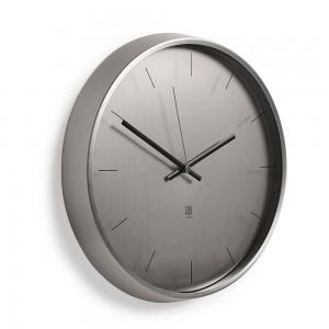 Часы настенные Meta никель Umbra 1004385-410
