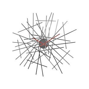 Часы настенные Blow up Alessi FC16