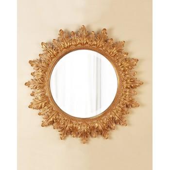 Зеркало в раме Альба LouvreHome (Neapolitan gold)