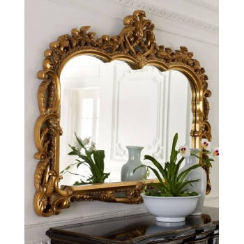 Зеркало в раме Жаклин LouvreHome (19С. Gold)