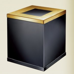 Корзина для мусора Black WINDISCH 89722NO