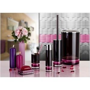 Набор аксессуаров для ванной PRIMANOVA D-15280.1 FLOAT (розовый)