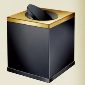 Корзина для мусора Black WINDISCH 89712NO