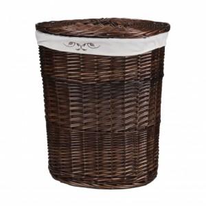 Корзина для белья из лозы коричневая № 1 C241B S/3 большая