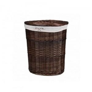 Корзина для белья из лозы коричневая № 2 C241B S/3 средняя