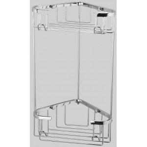 Полка-решетка двойная угловая Sanartec 154410
