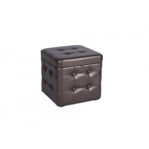 Пуфик с крышкой 333-04К Fiore koriza (коричневый)
