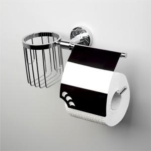 Держатель для туалетной бумаги и освежителя WasserKRAFT Isen К-4059